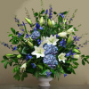Blue & White Sympathy (shown at $165.00)